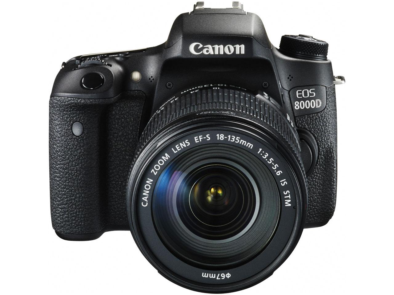 『本体 正面1』 EOS 8000D EF-S18-135 IS STM レンズキット の製品画像