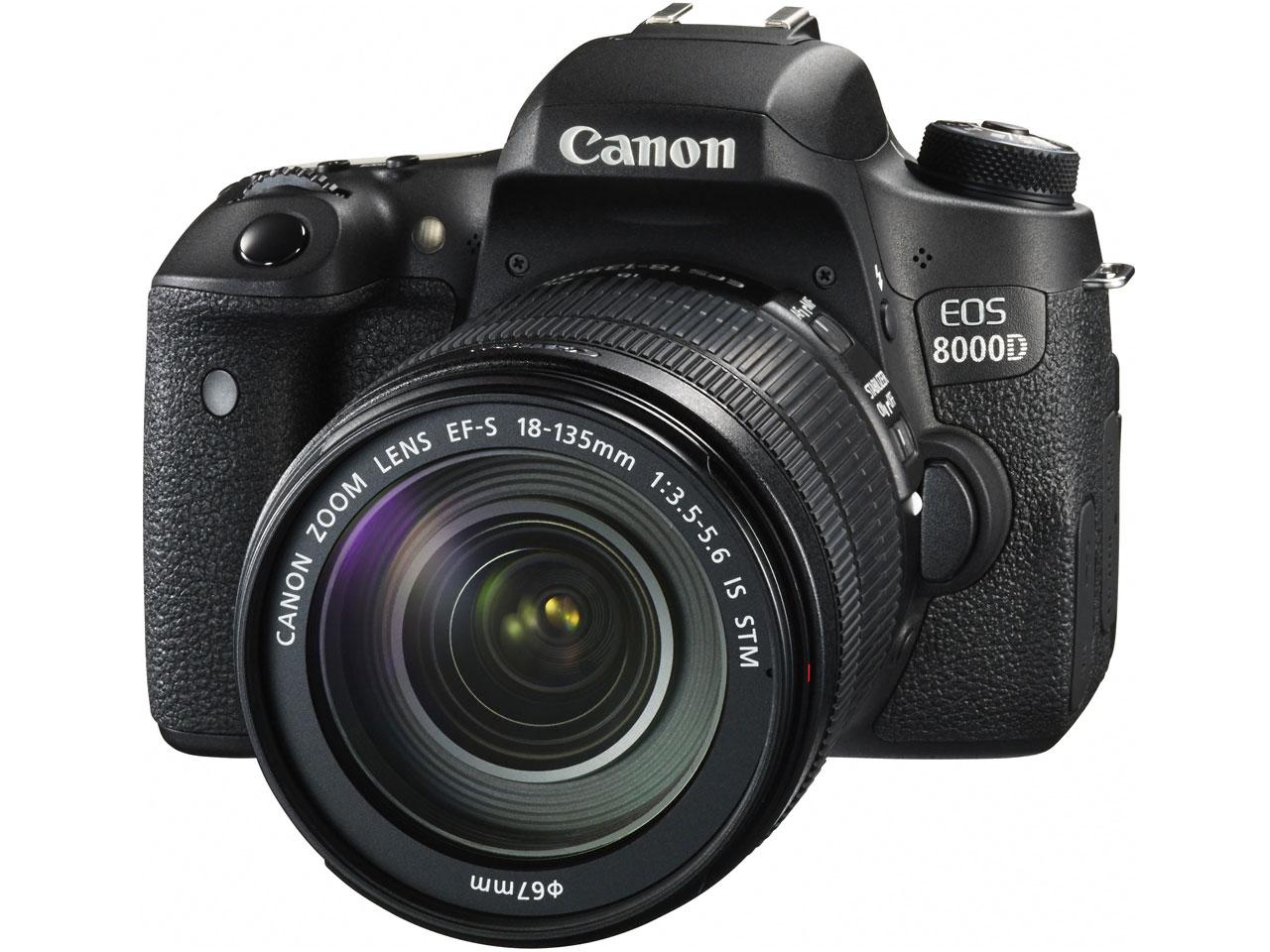 『本体 正面2』 EOS 8000D EF-S18-135 IS STM レンズキット の製品画像