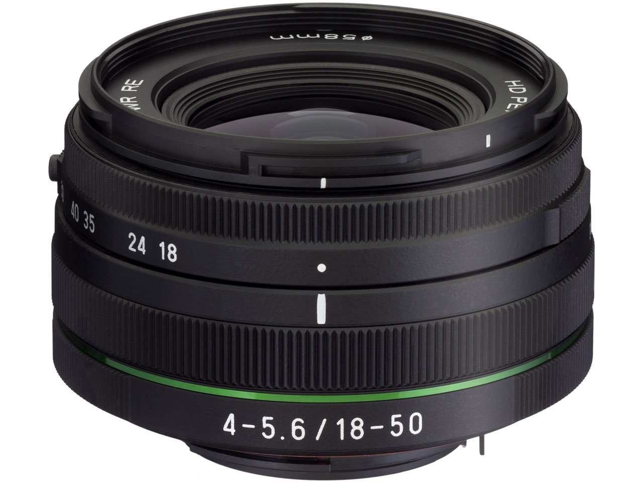 HD PENTAX-DA 18-50mmF4-5.6 DC WR RE の製品画像
