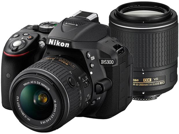 D5300 ダブルズームキット2 [ブラック] の製品画像