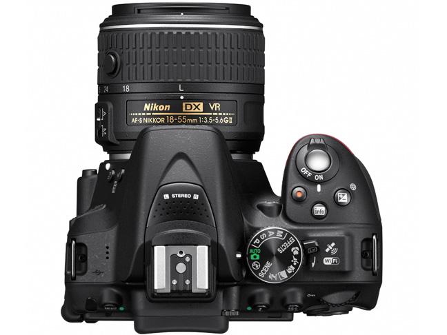 『本体 上面』 D5300 ダブルズームキット2 [ブラック] の製品画像