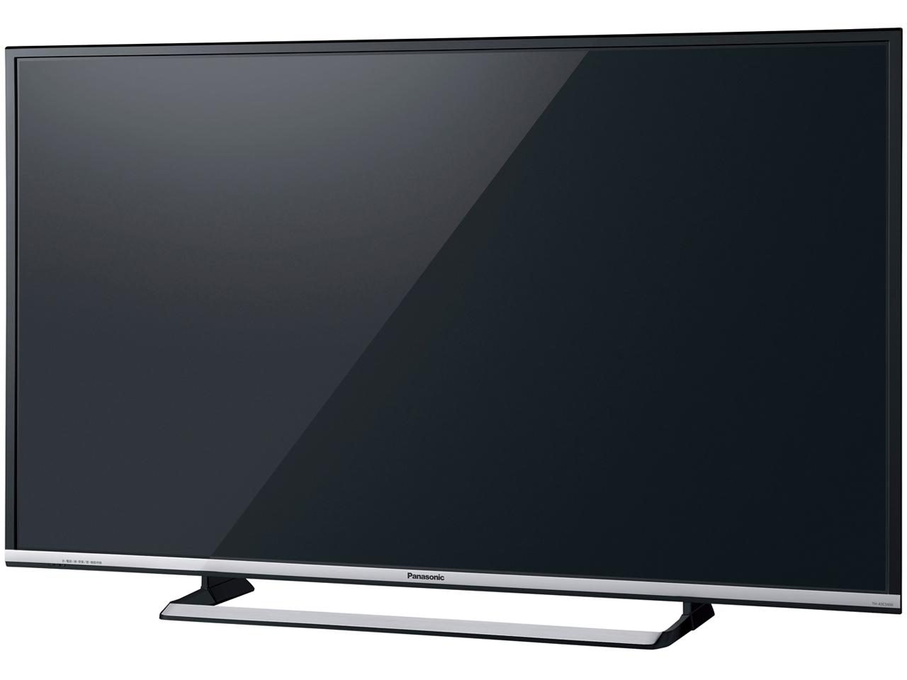 『本体 斜め』 VIERA TH-43CS650 [43インチ] の製品画像