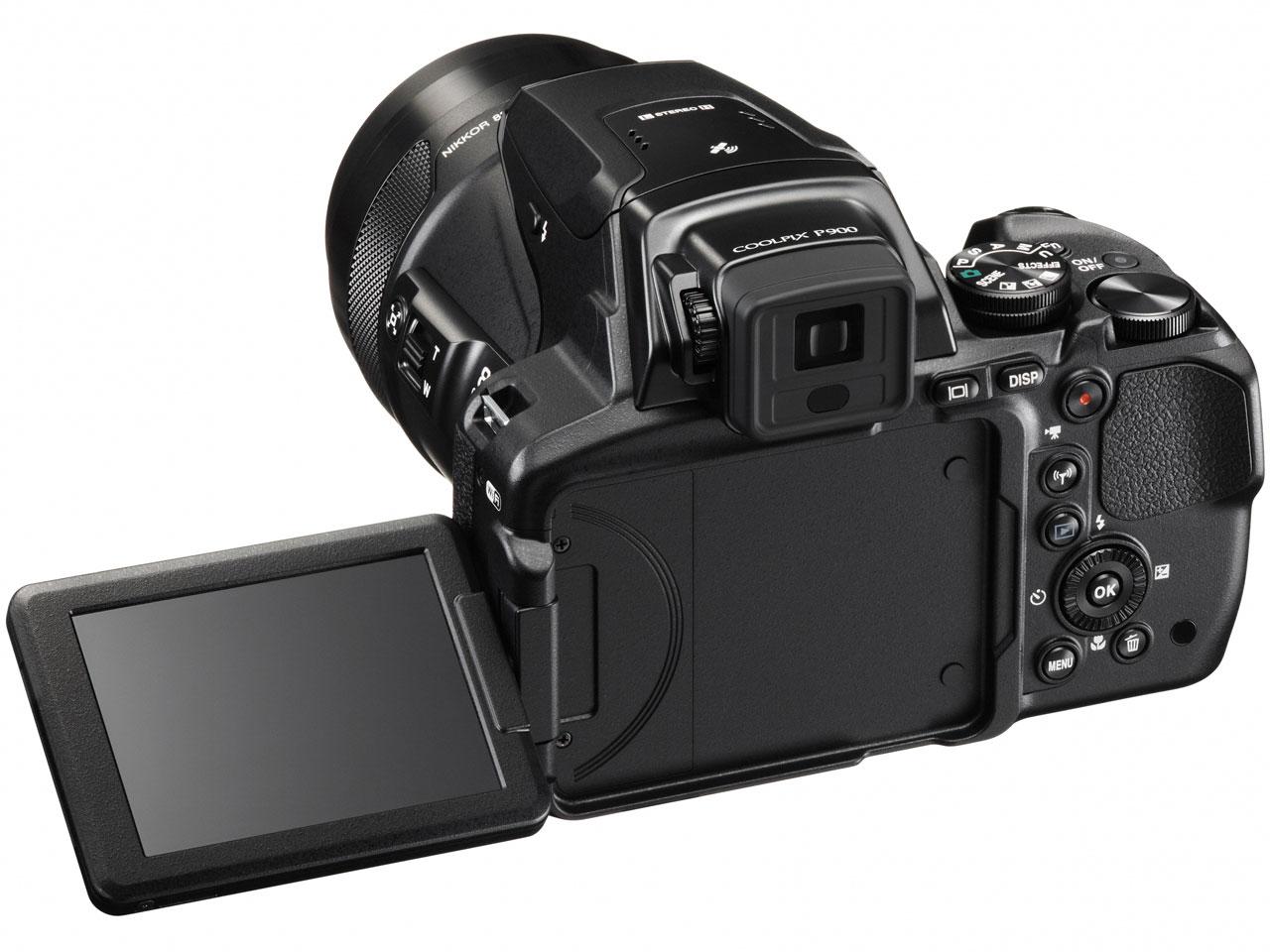 『本体 背面 バリアングル1』 COOLPIX P900 の製品画像