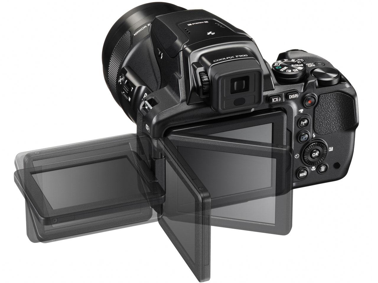 『本体 背面 バリアングル2』 COOLPIX P900 の製品画像