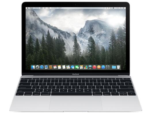 MacBook 1100/12 MF855J/A [シルバー] の製品画像