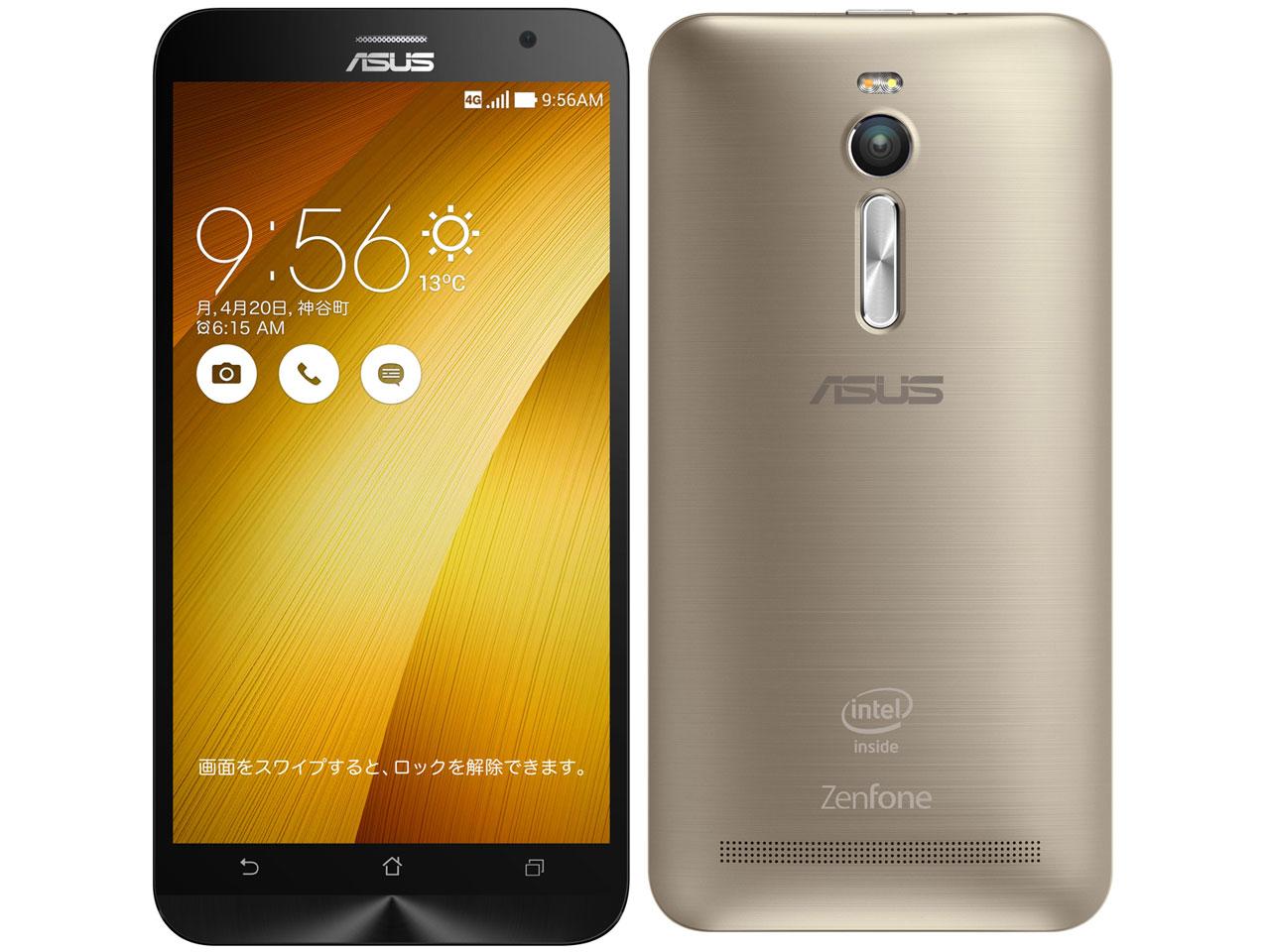 ZenFone 2 ZE551ML-GD32S4 SIMフリー [ゴールド] の製品画像