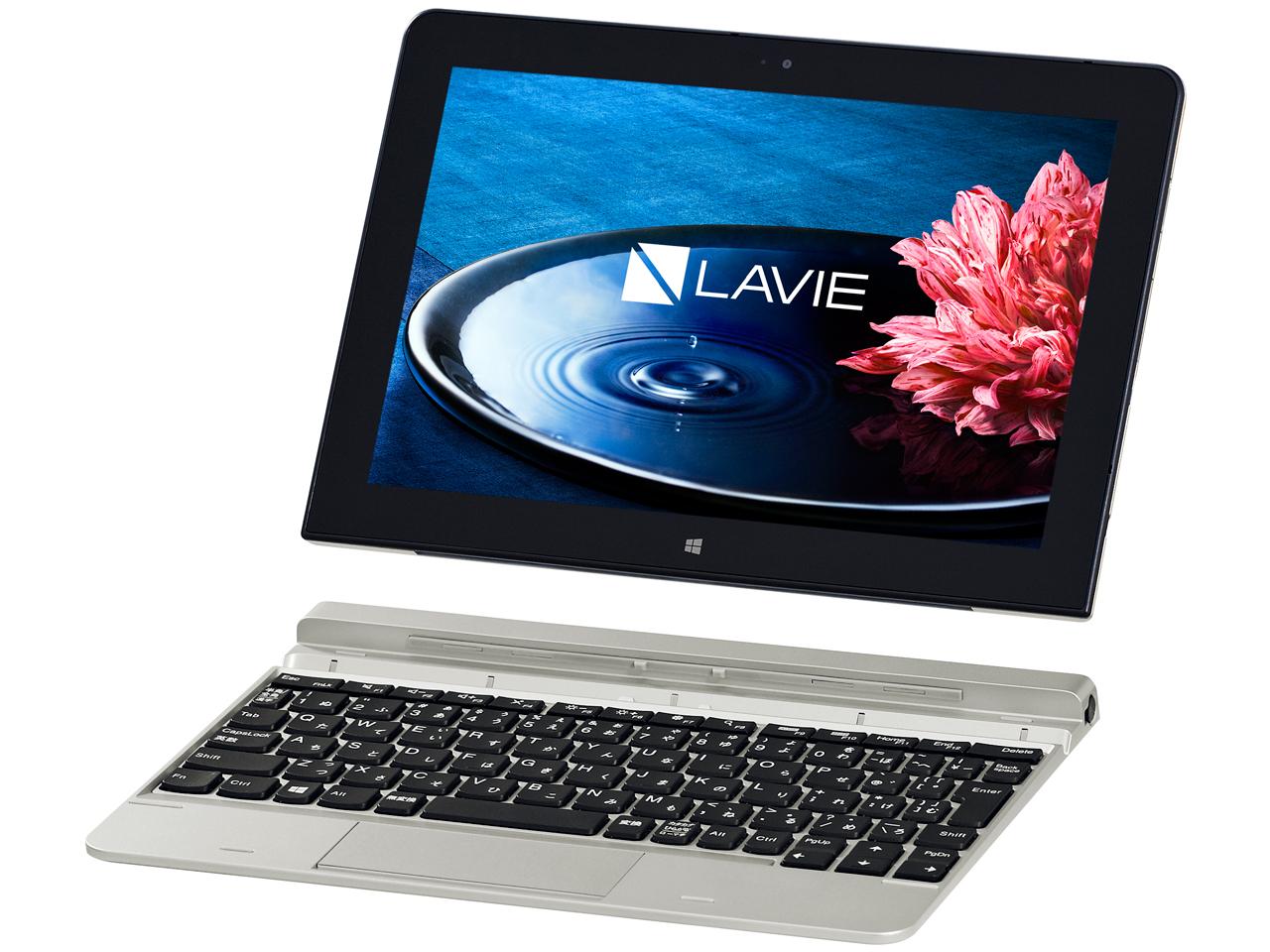 『本体2』 LAVIE Tab W TW710/BBS PC-TW710BBS の製品画像