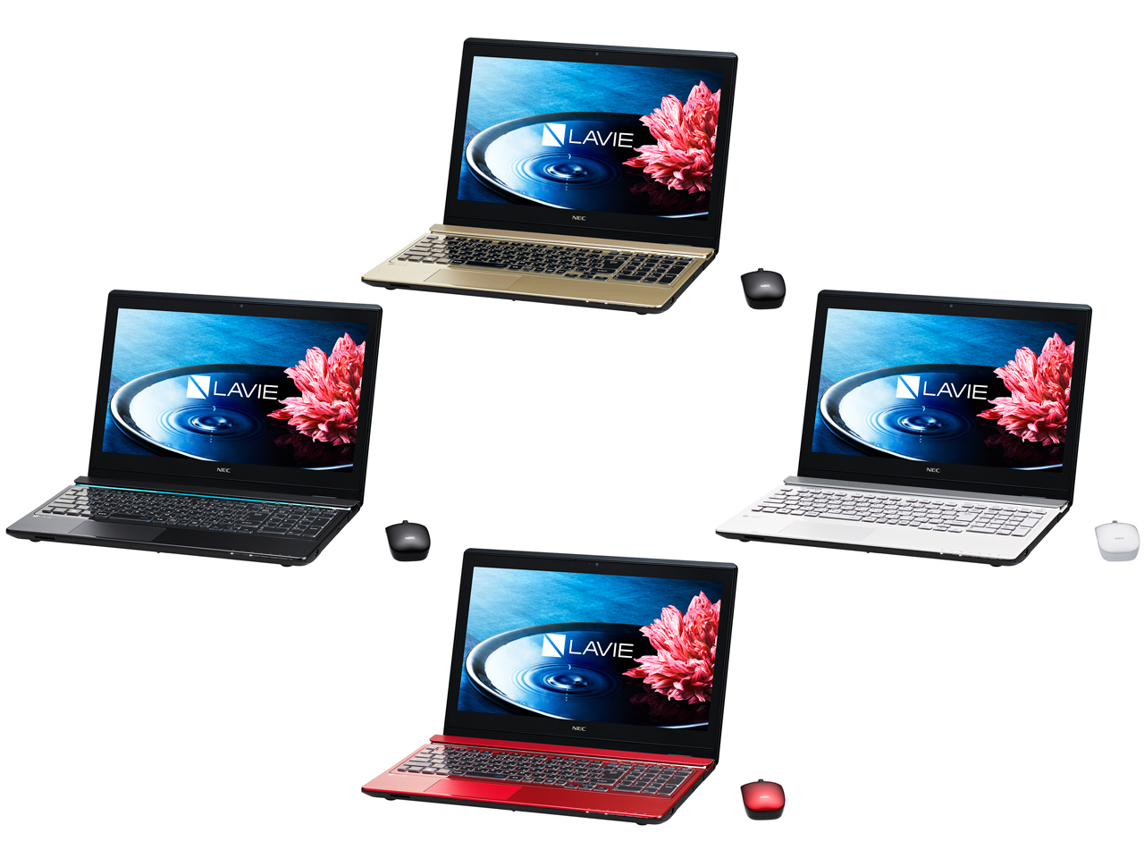 �w�J���[�o���G�[�V�����x LAVIE Note Standard NS750/BAB PC-NS750BAB [�N���X�^���u���b�N] �̐��i�摜