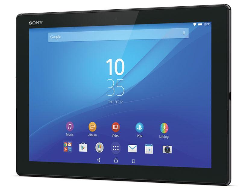 『本体』 Xperia Z4 Tablet Wi-Fiモデル SGP712JP/B [ブラック] の製品画像