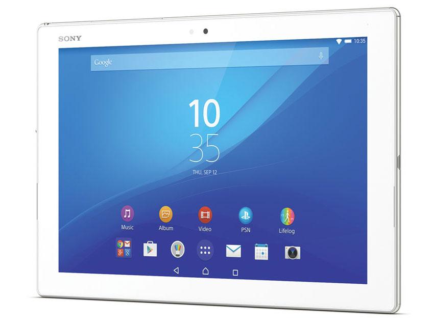 『本体』 Xperia Z4 Tablet Wi-Fiモデル SGP712JP/W [ホワイト] の製品画像