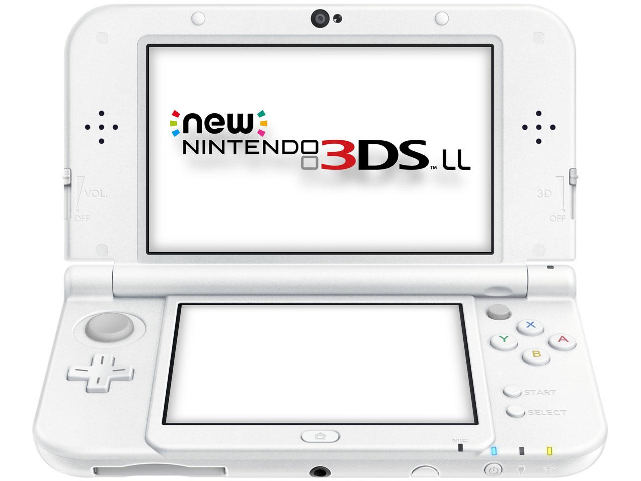 『本体2』 Newニンテンドー3DS LL パールホワイト の製品画像