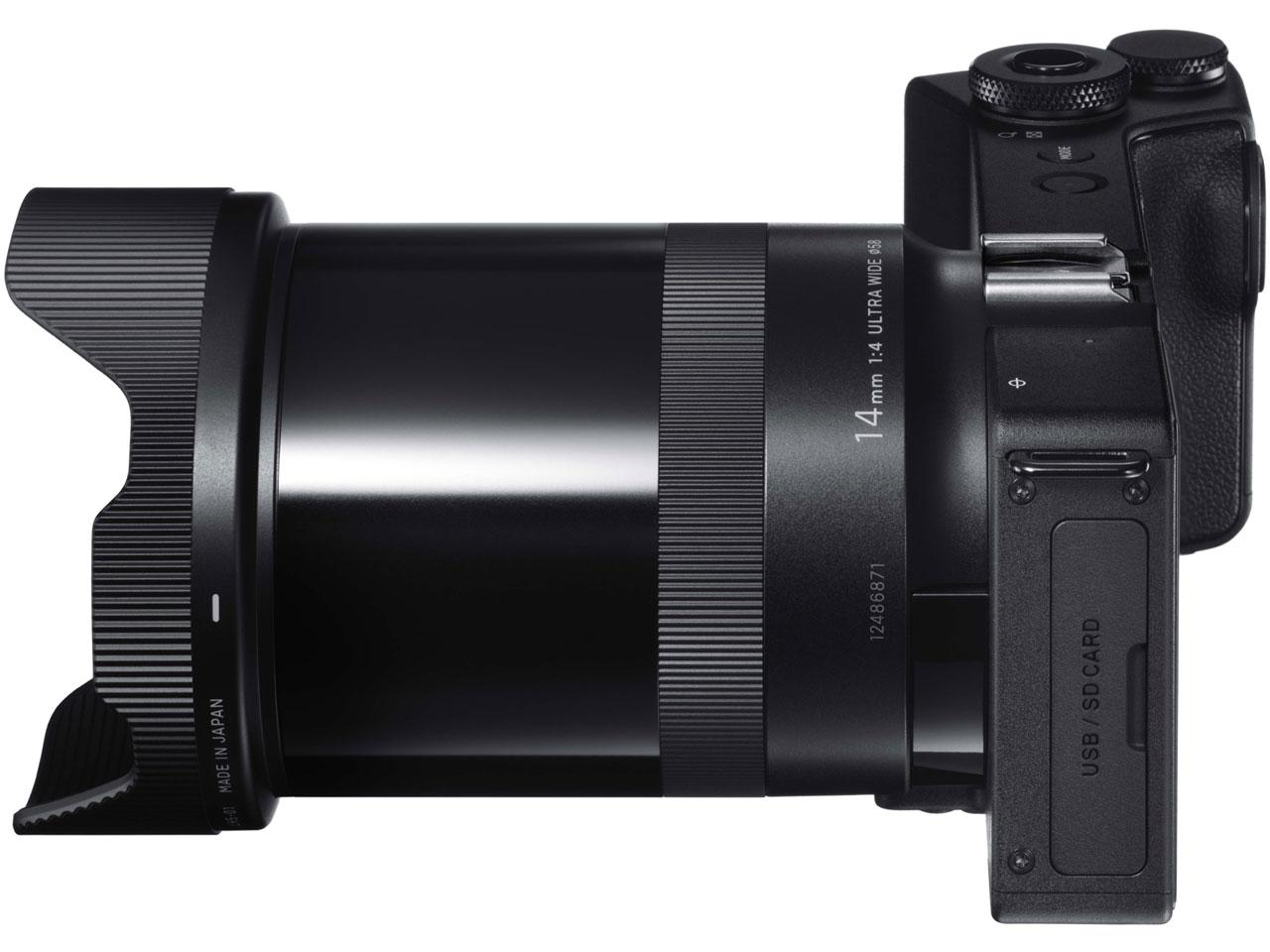 『本体 右側面』 SIGMA dp0 Quattro LCD ビューファインダーキット の製品画像