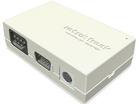 『コントローラーアダプター1』 レトロフリーク(コントローラーアダプターセット) CY-RF-B の製品画像