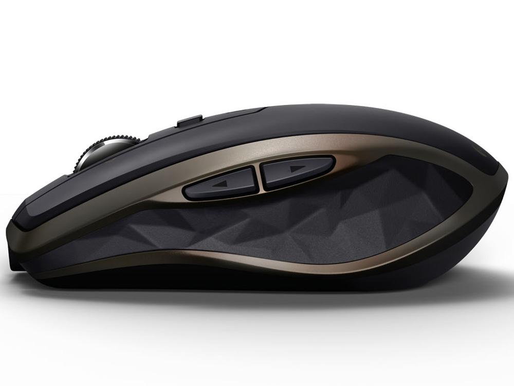『本体 側面』 MX Anywhere 2 Wireless Mobile Mouse MX1500 [ブラック] の製品画像