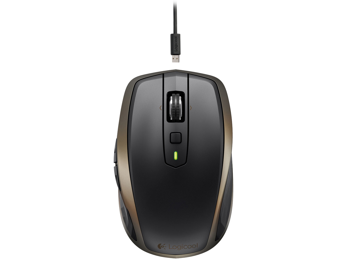 『本体3』 MX Anywhere 2 Wireless Mobile Mouse MX1500 [ブラック] の製品画像