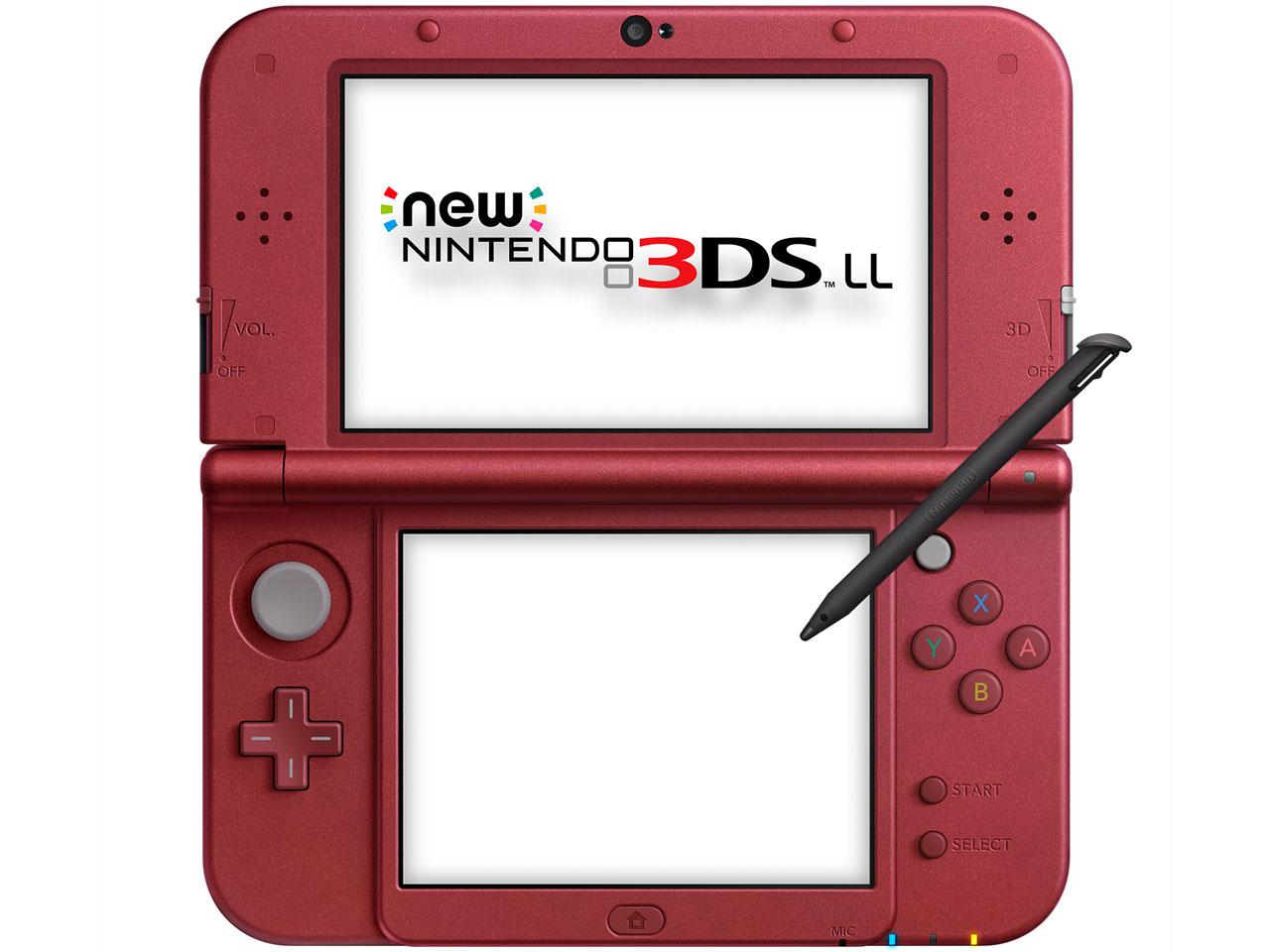 �w�{�́x New�j���e���h�[3DS LL ���^���b�N���b�h �̐��i�摜