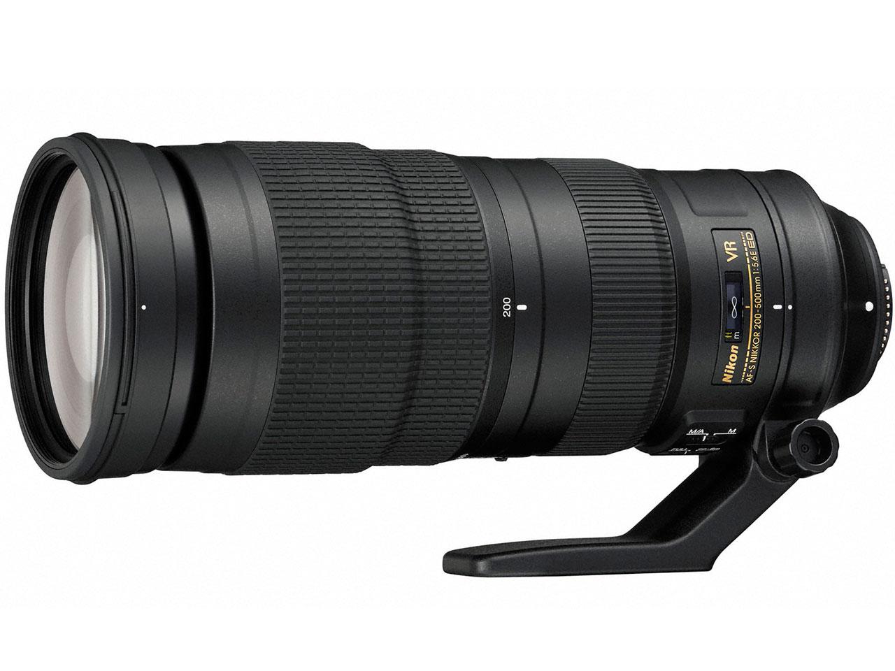 AF-S NIKKOR 200-500mm f/5.6E ED VR �̐��i�摜