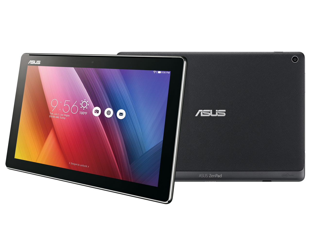 ASUS ZenPad 10 Z300C-BK16 [ブラック] の製品画像