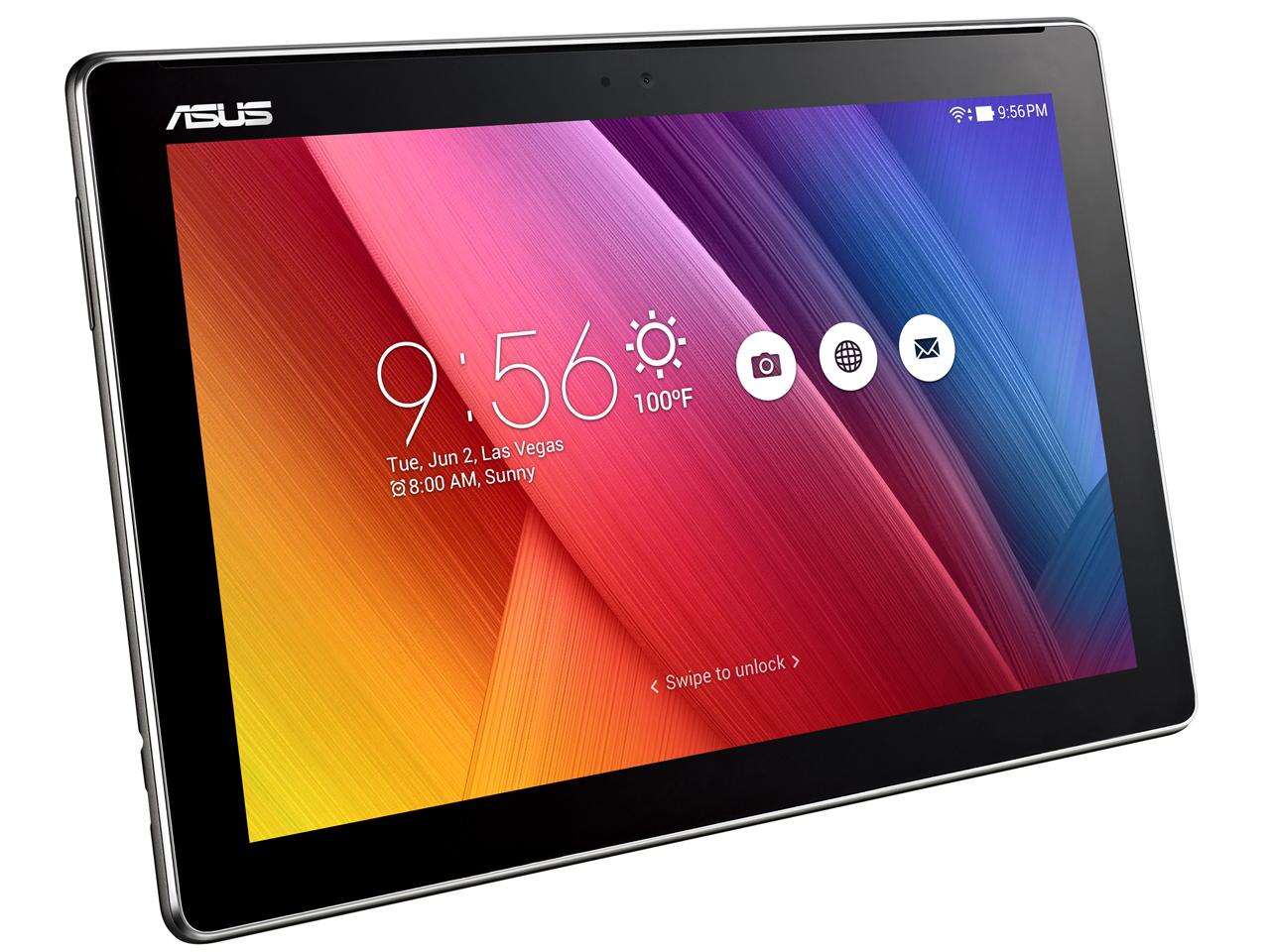 『本体』 ASUS ZenPad 10 Z300C-BK16 [ブラック] の製品画像