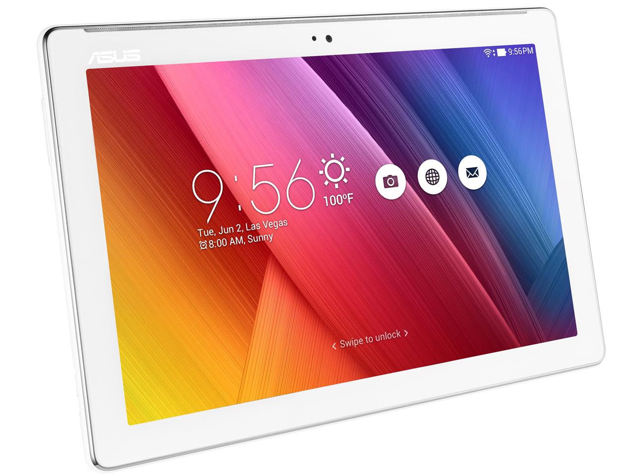 『本体』 ASUS ZenPad 10 Z300C-WH16 [ホワイト] の製品画像