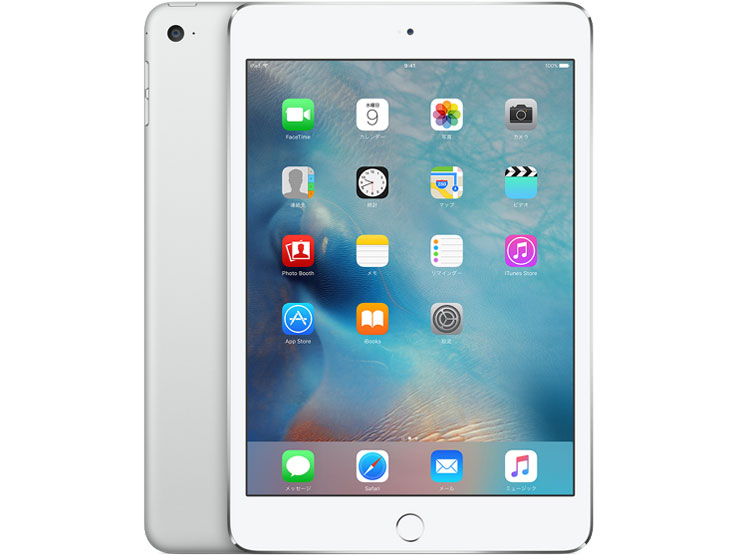 iPad mini 4 Wi-Fi���f�� 128GB MK9P2J/A [�V���o�[] �̐��i�摜