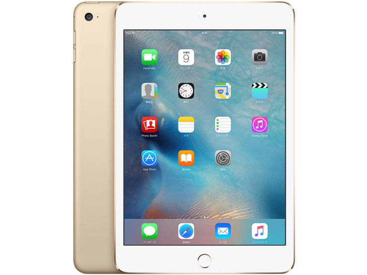 iPad mini 4 Wi-Fi���f�� 128GB MK9Q2J/A [�S�[���h] �̐��i�摜