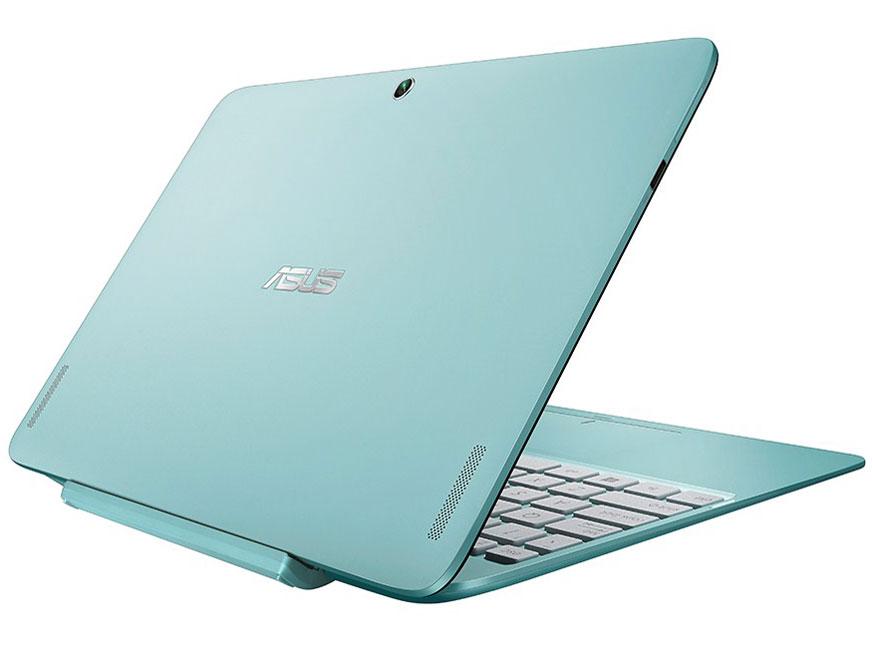 『本体 背面 斜め2』 ASUS TransBook T100HA T100HA-BLUE [アクアブルー] の製品画像