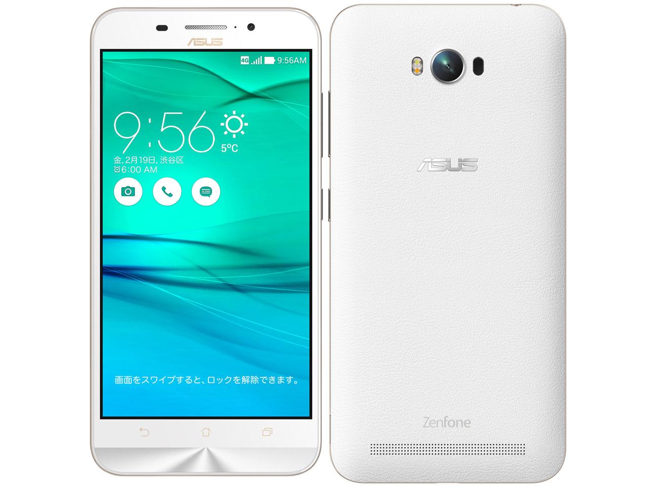 ZenFone Max ZC550KL-WH16 SIMフリー [ホワイト] の製品画像