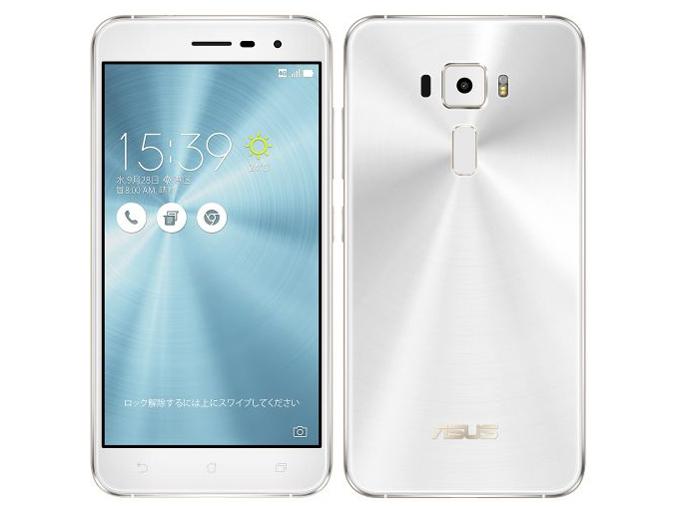 ZenFone 3 ZE520KL-WH32S3 SIMフリー [パールホワイト] の製品画像