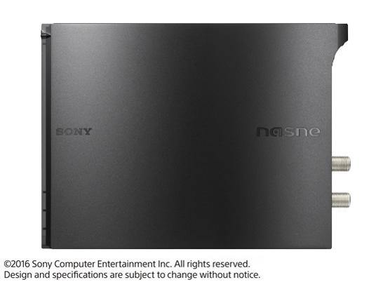 『本体 右側面』 nasne(ナスネ) CUHJ-15004 [1TB] [ブラック] の製品画像