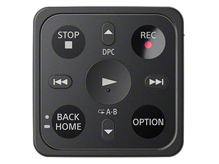 『リモコン1』 ICD-TX800 (B) [ブラック] の製品画像