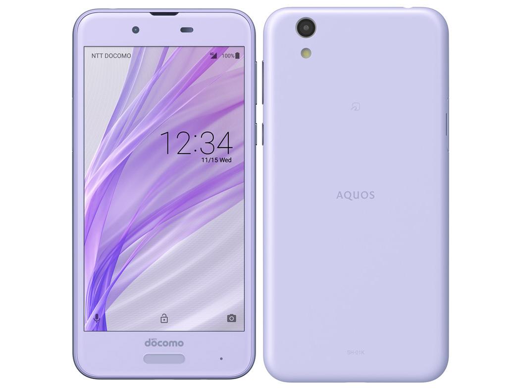 AQUOS sense SH-01K docomo [Frost Lavender] の製品画像