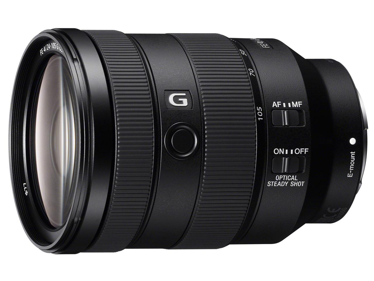 FE 24-105mm F4 G OSS SEL24105G の製品画像