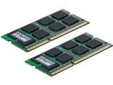 バッファロー D3N1066-1GX2 (SODIMM DDR3 PC3-8500 1GB 2枚組)