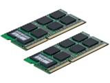 バッファロー D3N1066-2GX2 (SODIMM DDR3 PC3-8500 2GB 2枚組)