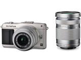 OLYMPUS PEN mini E-PM2 �_�u���Y�[���L�b�g ���i�摜