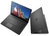 Inspiron 15 3000 スタンダード・Core i3 7100U・8GBメモリ・128GB SSD搭載・Office Personal プレミアム付モデル 製品画像