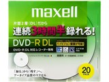 DRD215WPB.20S (DVD-R DL 8倍速 20枚組)
