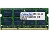 プリンストン PDN3/1066-4GX2 (SODIMM DDR3 PC3-8500 4GB 2枚組)