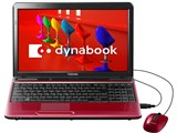 dynabook T350 T350/56BR PT35056BBFR [モデナレッド] 製品画像