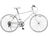 自転車の 大友商事 自転車 クロスバイク : ENCOUNTER CR-700EC [ホワイト] の ...