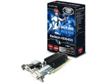 SAPPHIRE HD6450 1G DDR3 PCI-E HDMI/DVI-D/VGA [PCIExp 1GB] ���i�摜
