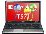 dynabook Satellite T571 T571/W5TC PT5715TCBGBW-K 価格.com限定 マウス付モデル 製品画像