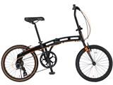 DOPPELGANGER 202 blackmax 7段変速モデル [ジェットブラック/フラッシュオレンジ] 製品画像
