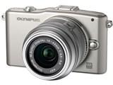 OLYMPUS PEN mini E-PM1 レンズキット [シルバー] 製品画像