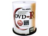 ALDR47-16X100PW [DVD-R 16倍速 100枚組] 製品画像