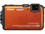 COOLPIX AW100 [サンシャインオレンジ] 製品画像