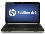 Pavilion dv6-6118TX フルHD液晶&ブルーレイ搭載モデル 製品画像