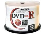 ALDR47-16X50PW [DVD-R 16倍速 50枚組] 製品画像