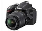 D3200 200mm ダブルズームキット [ブラック] 製品画像